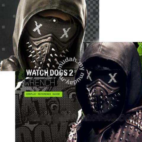 Rabatt bis zu 60% echte Schuhe detaillierter Blick Ubisoft game Watch Dogs 2 Cosplay PVC leather mask - Watches & Fashion  Accessories for sale in Johor Bahru, Johor