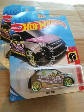 New Fiat 500 Hw Daredevils Hot Wheels Hotwheels Hobby Collectibles For Sale In Old Klang Road Kuala Lumpur