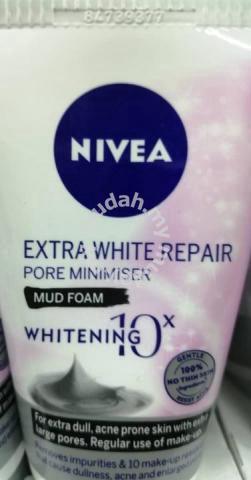 NIVEA Extra White Repair Pore Minimiser Mud Foam - Health & Beauty for sale  in Kajang, Selangor
