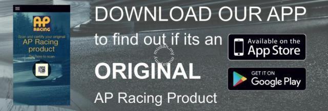 Ap racing pro5000 r 100% genuine brake kit - Car Accessories & Parts for  sale in Kepong, Kuala Lumpur