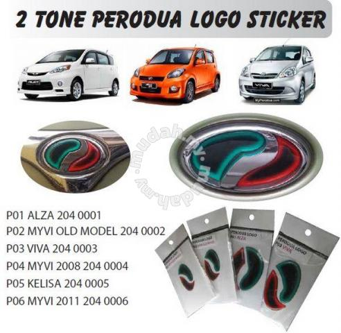 Perodua myvi alza viva front rear sticker car accessories parts for sale in cheras kuala lumpur