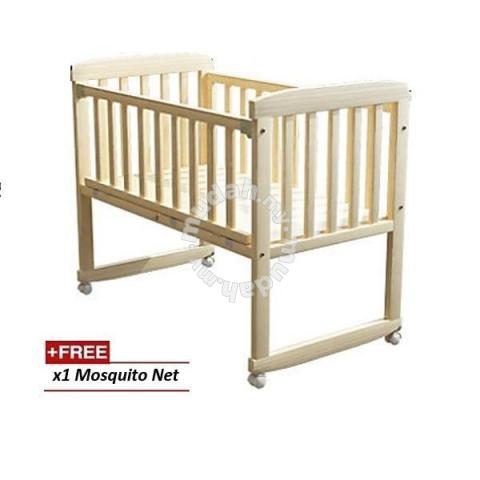 Cradle Baby Cot Baby Cot Wooden Rocking Table Baby Moms Kids For Sale In Cheras Kuala Lumpur