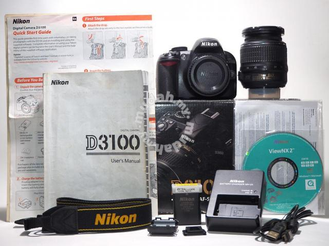 Nikon D3100 Complete Package