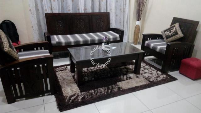 Sofa Kayu Jati Furniture Decoration For Sale In Juru Penang