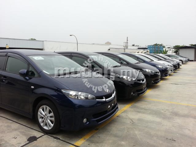 Toyota Wish 1.8 unreg full spec new model 09 -09 - Image
