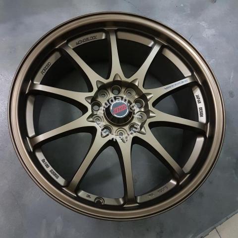 NEW SPORT RIM 18inch 5x114.3 Volk CE28 THAILAND - Car ...