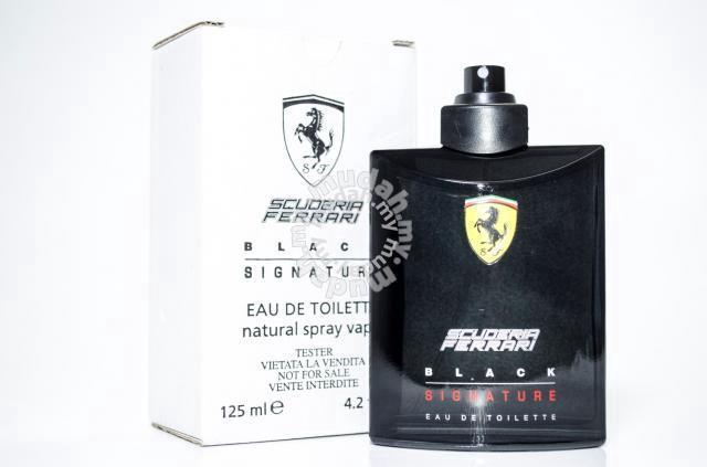 Scuderia Ferrari Black Signature Tester Perfume Health Beauty