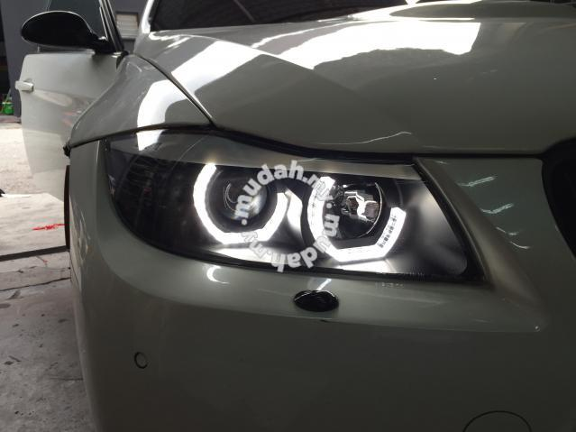 bmw e90 performance led head lamp car accessories. Black Bedroom Furniture Sets. Home Design Ideas