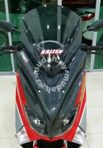 Yamaha NMAX Custom Windshield - Motorcycle Accessories & Parts for sale in Subang Jaya, Selangor