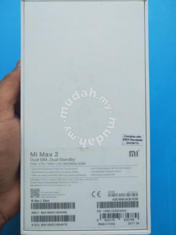 Mi max 2 - Mobile Phones & Gadgets for sale in Butterworth, Penang