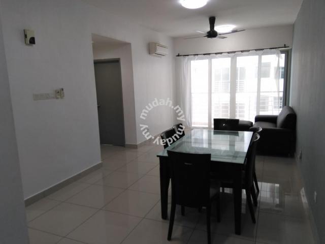 Garden, Park One South   Seri Kembangan, 3R2B, FULLY Furnished   Apartments  For Rent In Serdang, Kuala Lumpur