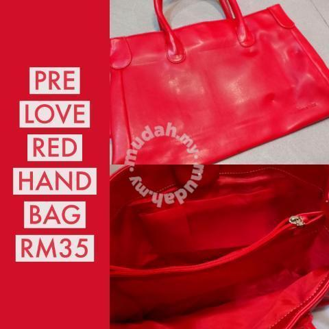Red Hand Bag - Bags   Wallets for sale in Kota Kinabalu 580ea50d1e295