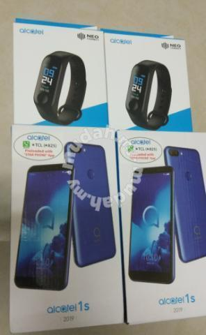 Alcatel 1s 3/32GB 4G Percuma Alcatel M3 watch - Mobile Phones & Gadgets for  sale in Cheras, Kuala Lumpur