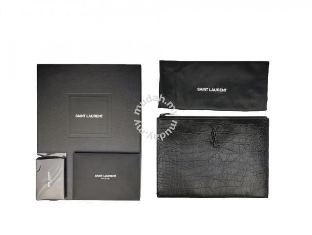 3c46c37edd1 YSL Yves Saint Laurent Monogram Tablet Holder - Bags & Wallets for ...