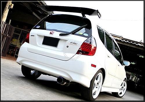 03 >> Honda Fit Jazz 03 07 Gd Rear Tailgate Spoiler Car Accessories