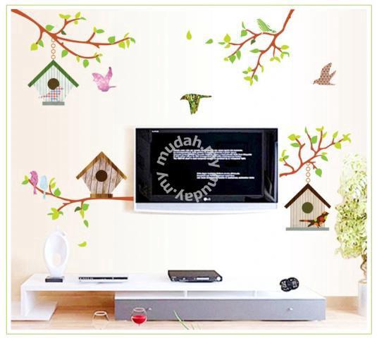 bird cage & bird wall sticker - furniture & decoration for sale in