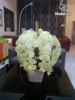 Gubahan bunga artificial orkid baru - Image