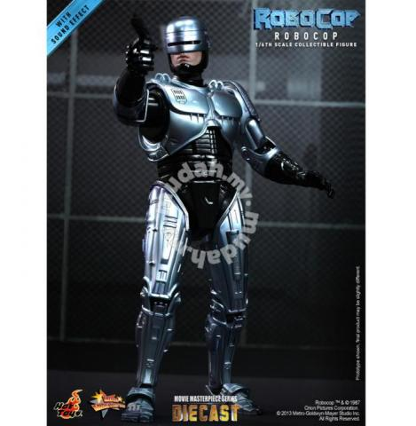 Hot Toys 1/6 Robocop MMS202D04 With Sound Effect - Hobby & Collectibles for  sale in Putrajaya, Putrajaya