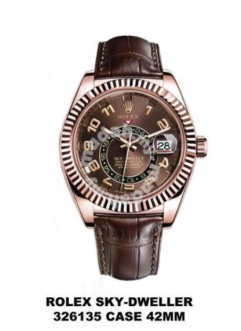 Rolex Sky Dweller Oro Rosa