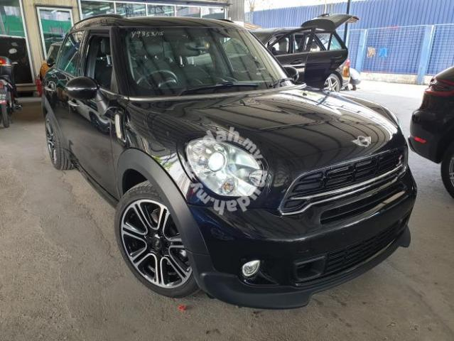 2015 Mini Cooper 16 Countryman Cooper S Black Cars For