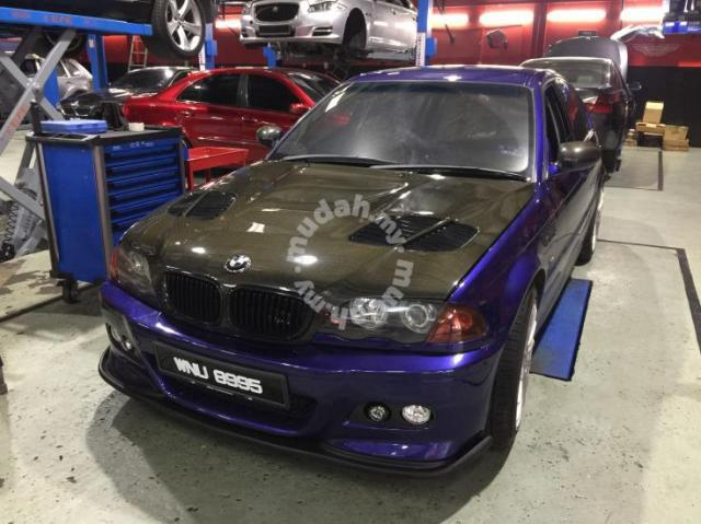 Bmw E46 M3 Style Front Full Carbon Bonet Car Accessories Parts For Sale In Setapak Kuala Lumpur