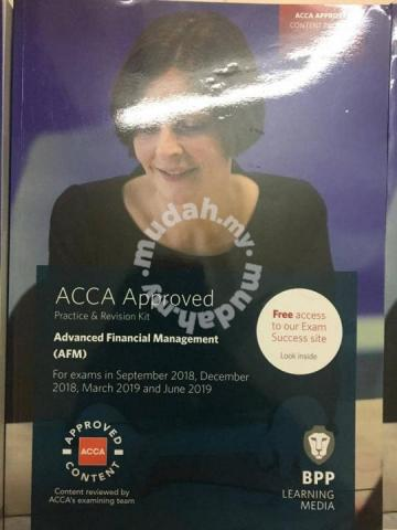 Acca Afm Past Papers