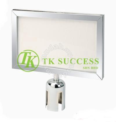 Stainless Steel A4 Horizontal Signboard Frame Slot - Professional/Business  Equipment for sale in Kajang, Selangor