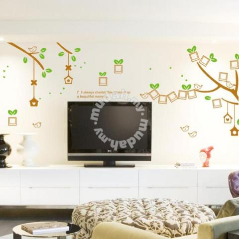 Instant Photo Frame Tree Wall Sticker Furniture Decoration For Sale