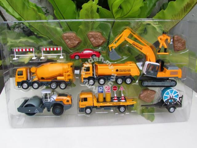 1 64 Diecast Multi Construction Playset 1 Large Hobby