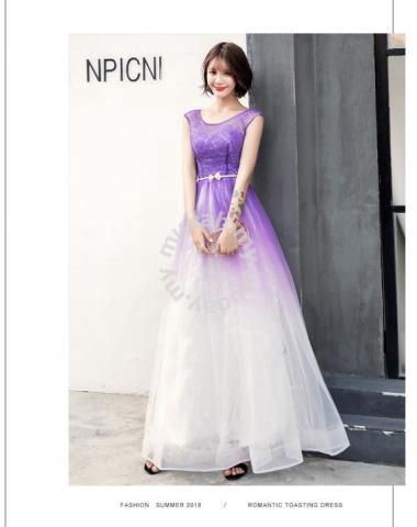 Purple Wedding Dresses.Purple Ombre Prom Wedding Dress Gown Rbp0831 Clothes For Sale In Johor Bahru Johor