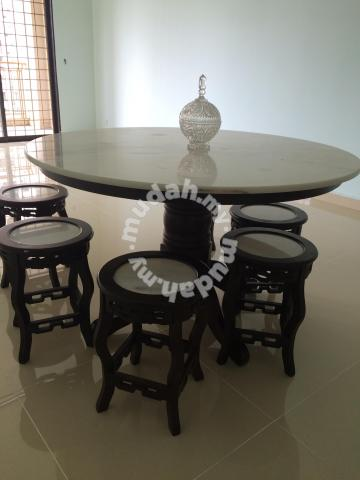 Marbel Dining Table For Sale Jalan Kebun