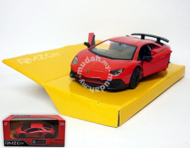 Diecast Lamborghini Aventador Sv Couple Red Hobby Collectibles