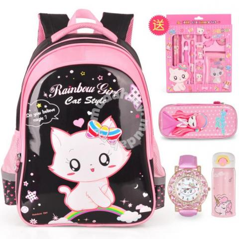 Schoolbag Primary School Girl Princess Grade Bags Wallets For Sale In Kajang Selangor
