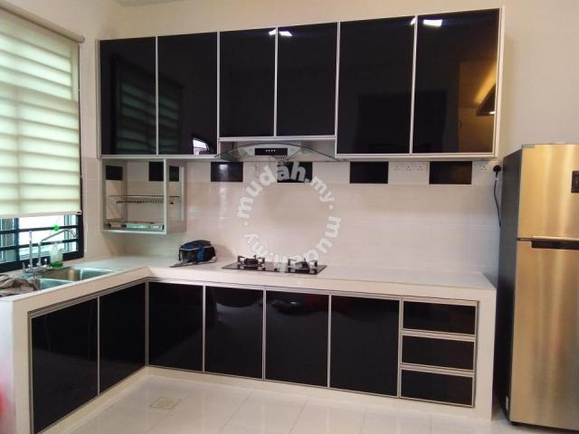 Kabinet Dapur Aluminium Furniture Decoration For In Johor Bahru