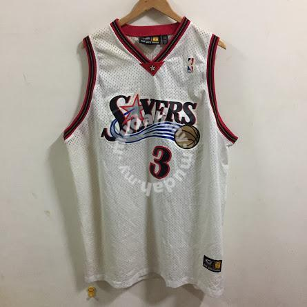 official photos 5b1ba 42ddc NBA Sixers iverson Jersey Size XXXL - Clothes for sale in City Centre,  Kuala Lumpur
