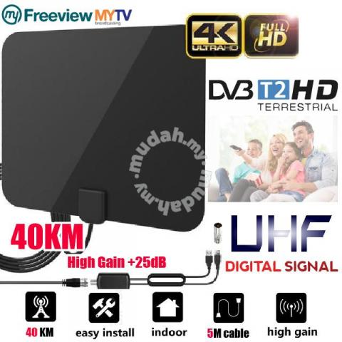 Mytv hdtv digital indoor antenna (+ amplifier) - TV/Audio/Video for sale in  Selayang, Selangor