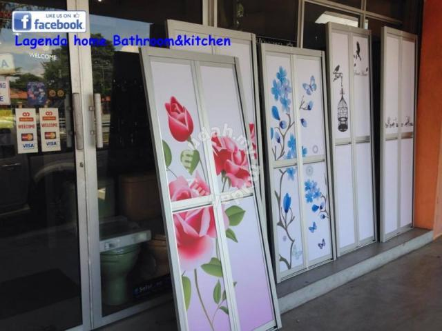 Bi Fold Door Pintu Bilik Air Home Liances Kitchen For In Sungai Petani Kedah