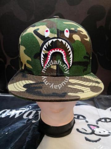 1c6fd33f485 Bape PONR Camo Shark Cap - Watches   Fashion Accessories for sale in  Cyberjaya