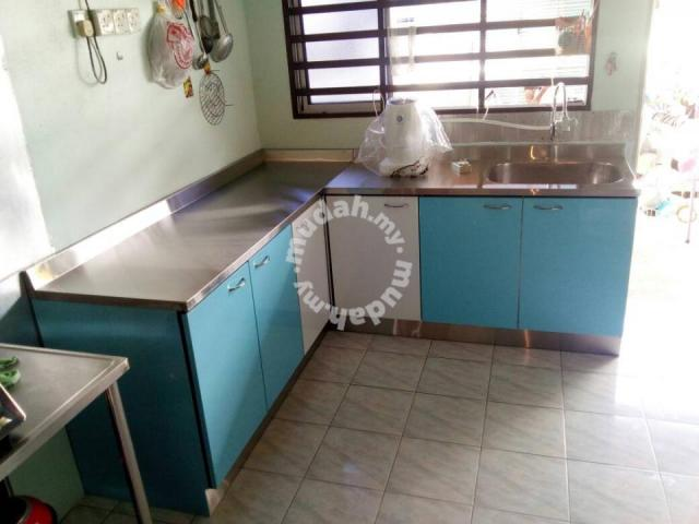 Kabinet Dapur Basah Simple Di Kota Bharu Home Liances Kitchen For In Kelantan