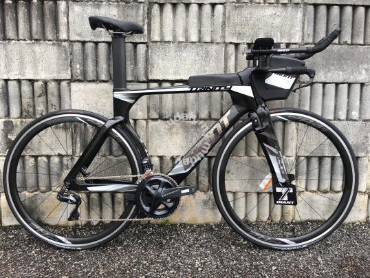 All New 2018 Giant Trinity Advanced Pro 1 Tt Bike Sports
