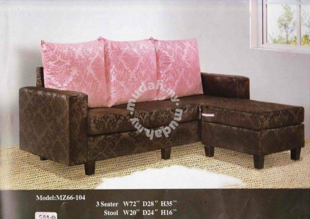 3 seater L shape sofa (MZ-66-104)25/06 - Furniture & Decoration for ...