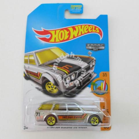 Hot Wheels Hotwheels Datsun 510 Wagon Zamac Hobby Collectibles