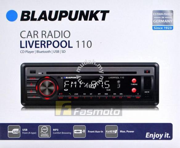 BLAUPUNKT LIVERPOOL 110 1 DIN Bluetooth CD USB SD - Car Accessories & Parts  for sale in Cheras, Kuala Lumpur