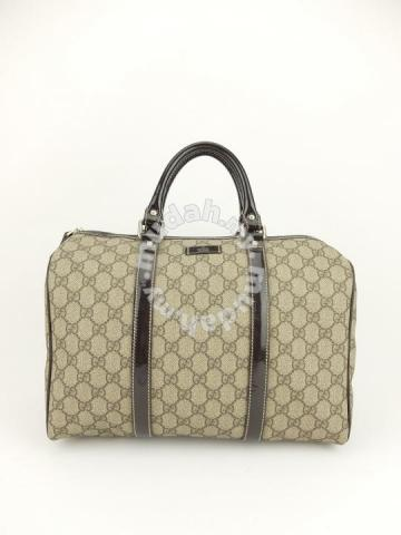91ac8112a6e KC-00087 Gucci Classic Boston Bag (Brown) - Bags   Wallets for sale in  Kuching
