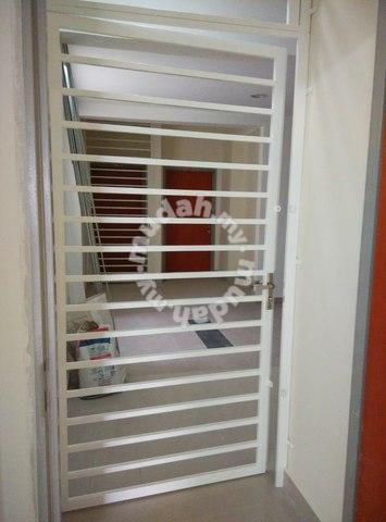 Mild Steel Grille Door Window With Simple Design   Furniture U0026 Decoration  For Sale In Hulu Selangor, Selangor