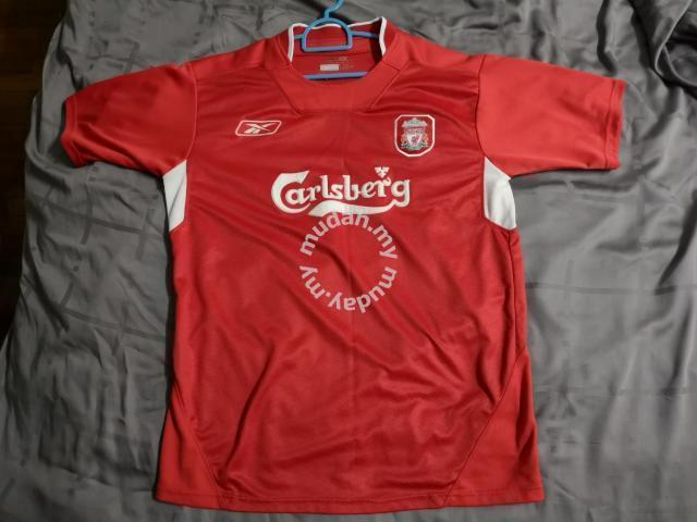 online retailer 1fbfe c7cf9 LIVERPOOL FC Home Jersey 04-06 Reebok Carlsberg - Clothes for sale in  Bandar Puteri Puchong, Selangor