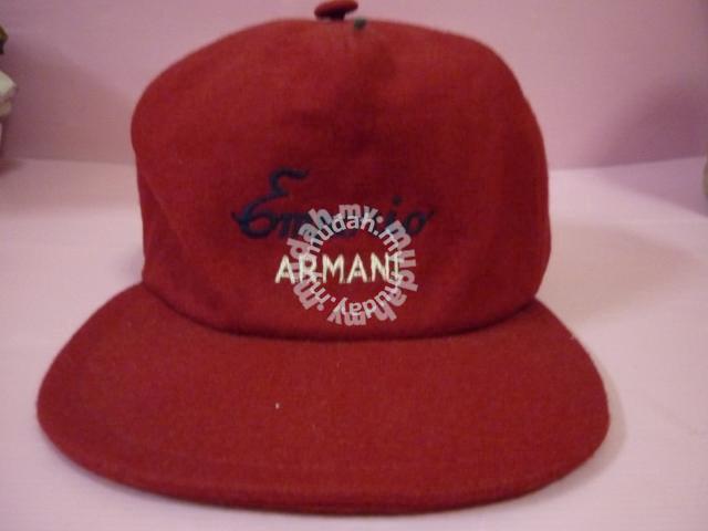 Original Emporio Armani cap Red - Watches   Fashion Accessories ... 708450a1ff7