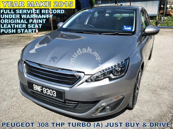2015 Peugeot 308 1 6 Thp Facelift A Buy N Drive Cars For