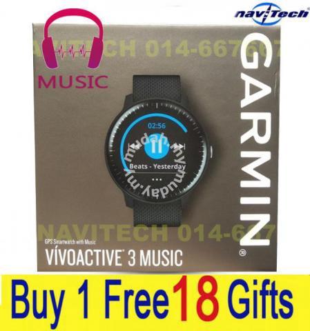 New Original Garmin Vivoactive 3 Music - Watches & Fashion Accessories for  sale in Cheras, Kuala Lumpur