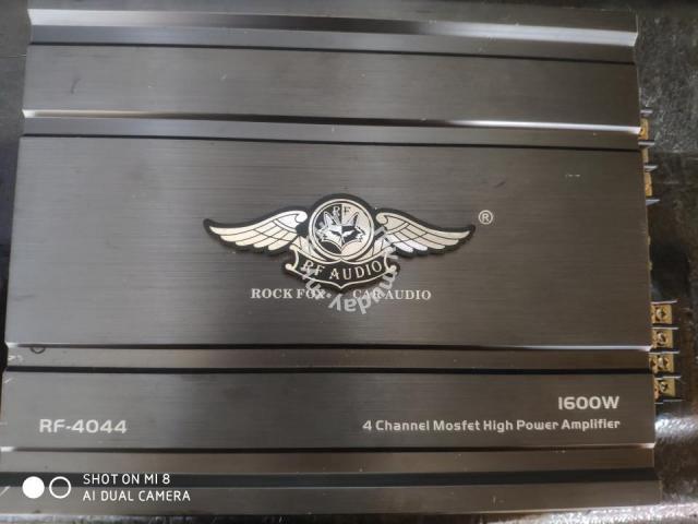 Rockfox 4 channel amplifier